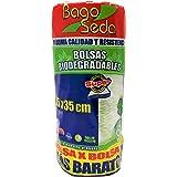 Bolsa Biodegradable En Rollo 25x35cm Poliseda (1 Rollo) Contiene 1300 Bolsas Aprox. Calibre 25.