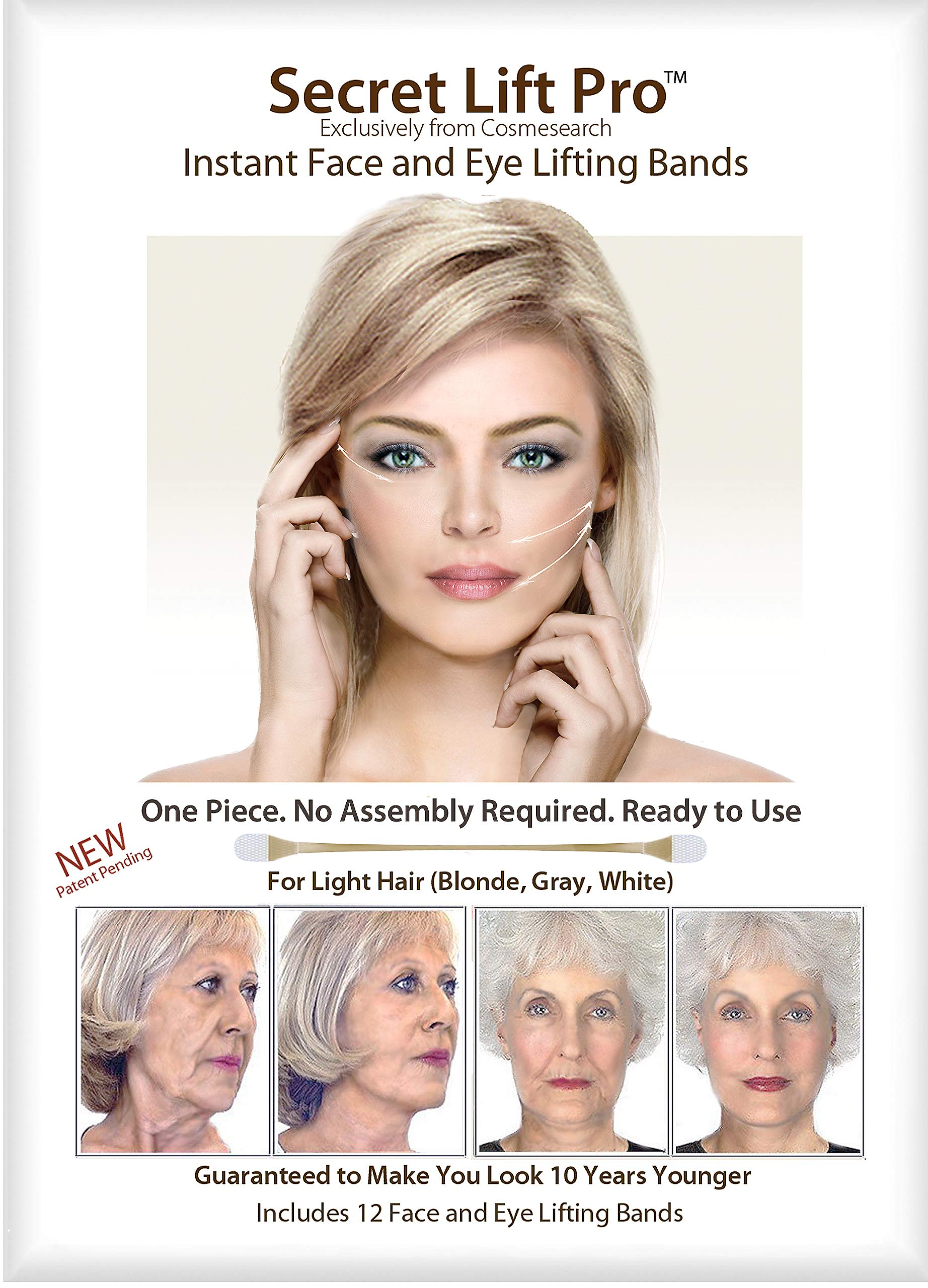 Secret Lift Pro - Face and Eye Lift (Light Hair)