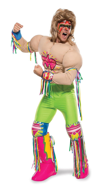 Amazon.com: Rubie\'s Costume Co Men\'s WWE Ultimate Warrior Grand ...