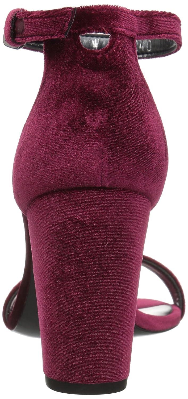 Stuart Sandal Weitzman Women's Nearlynude Heeled Sandal Stuart B06XPZKM1H 10 B(M) US|Scarlet 8e77b4