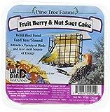 Pine Tree 1202 Fruit Berry and Nut Suet Cake, 12-Ounce