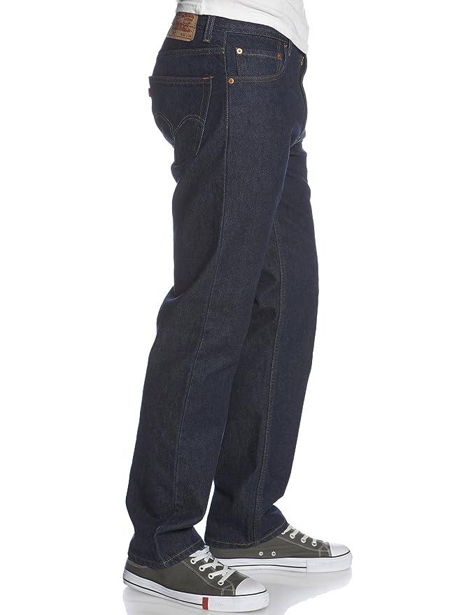 0172e231ea3 Levi s 505 Regular FIT Jean - Rinse at Amazon Men s Clothing store