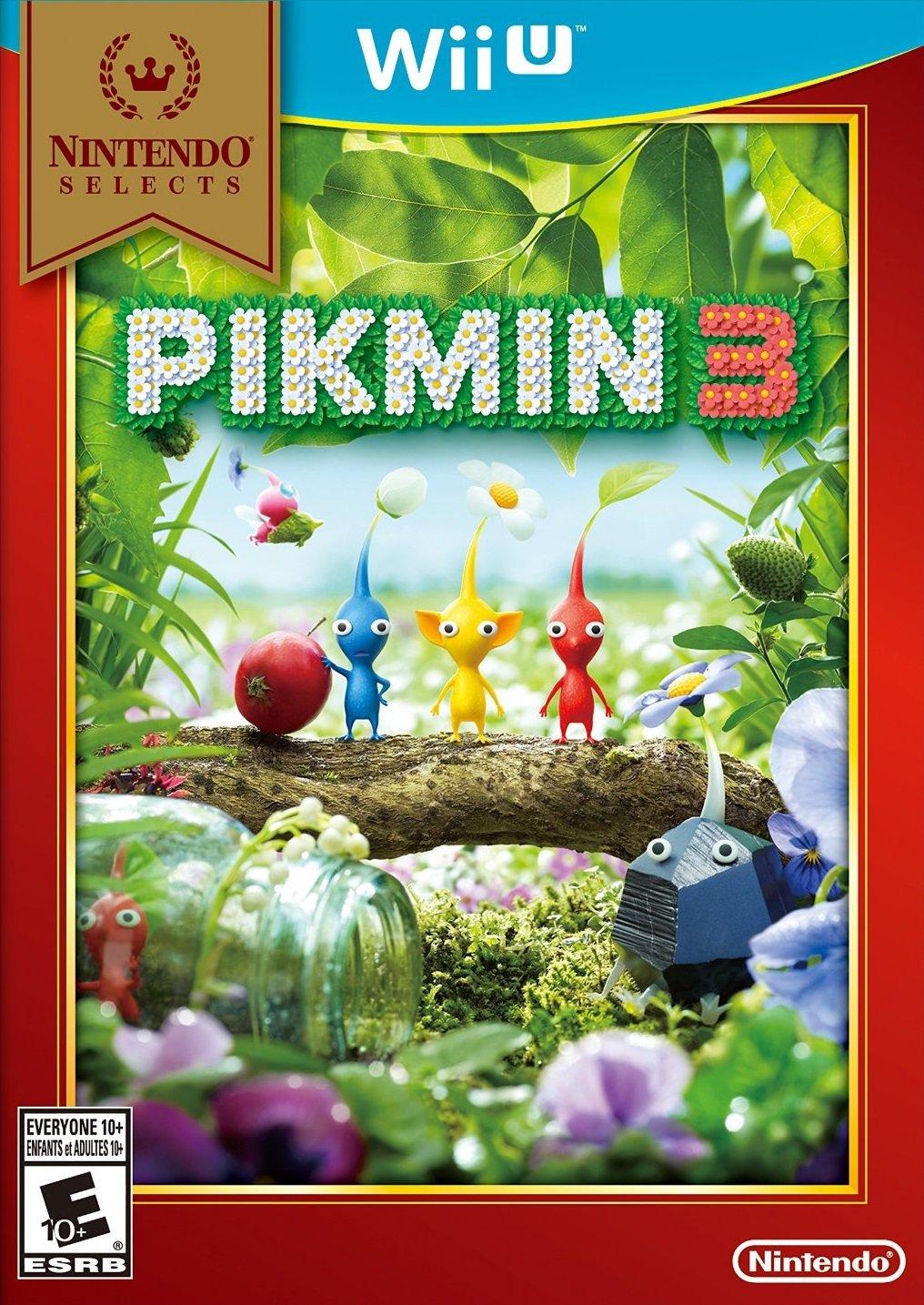 Amazon Com Nintendo Selects Pikmin 3 Wii U Digital Code