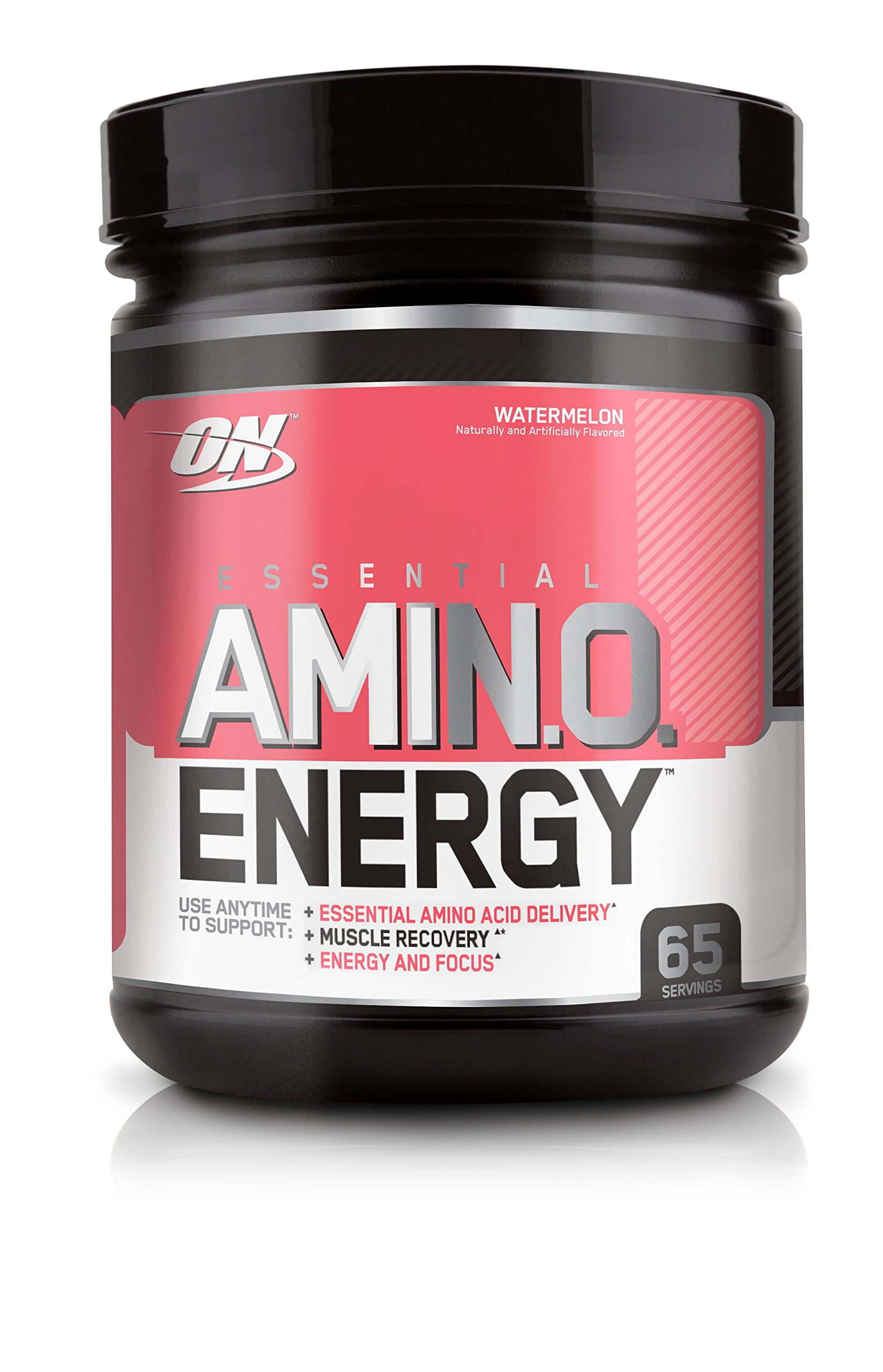 OPTIMUM NUTRITION ESSENTIAL AMINO ENERGY with Green Tea and Green Coffee Extract, Flavor: Watermelon, 65 Servings by Optimum Nutrition