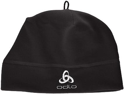 Odlo Hat Microfleece - Gorra de náutica para mujer, color negro, talla 0