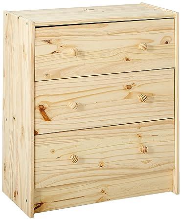 Amazon.com: IKEA RAST 753.057.09, cómoda de madera de ...