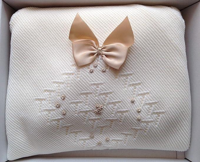 HC Enterprise,Toquilla para bebé,color blanco: Amazon.es: Bebé
