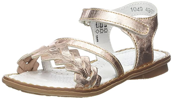 Little Mary Boutique, Bout Ouvert Fille, Beige (Spring Nude), 28 EU