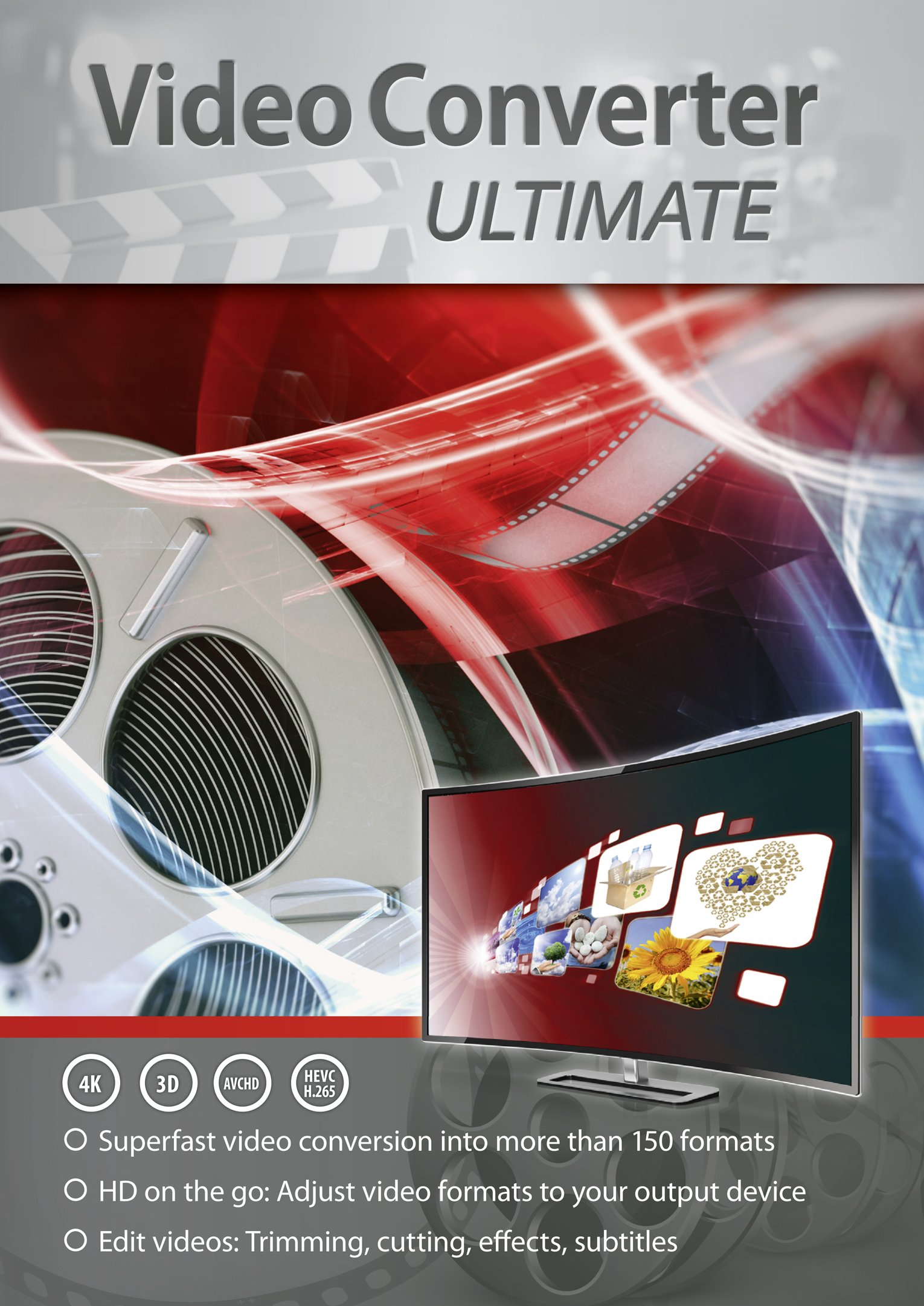 VideoConverter Ultimate - Superfast Video Conversion Into More than 150 Formats by Markt+Technik