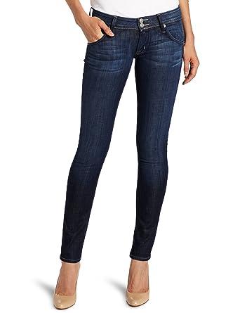 64b419ed148 Amazon.com: Hudson Jeans Women's Collin 32 Inch Inseam Skinny Jean ...