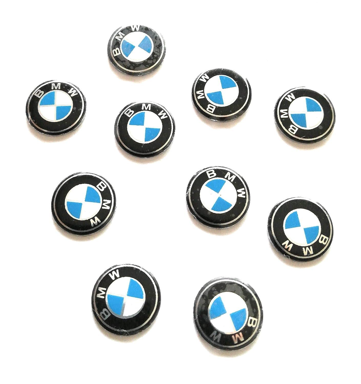 TyL Lot 10autocollants BMW pour clé de voiture