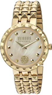 3b71a49d2840 Versus by Versace Women s Coral Gables Quartz Watch with Stainless-Steel  Strap