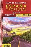 Mapa de Carreteras de España y Portugal 1:340.000, 2019 (Mapa Touring)