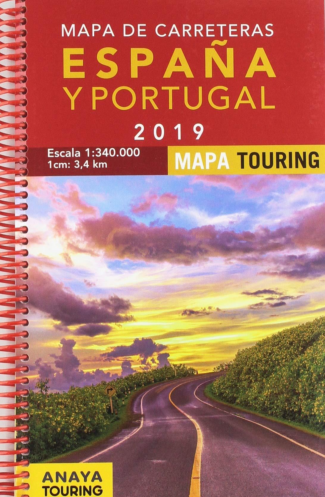 Mapa De Carreteras De Espana Y Portugal 1 340 000 2019