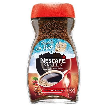 NESCAFÉ Café Classic Café Soluble Descafeinado| Bote de ...