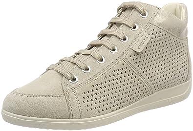 Womens D Myria B Hi-Top Sneakers Geox C4bow0huqK