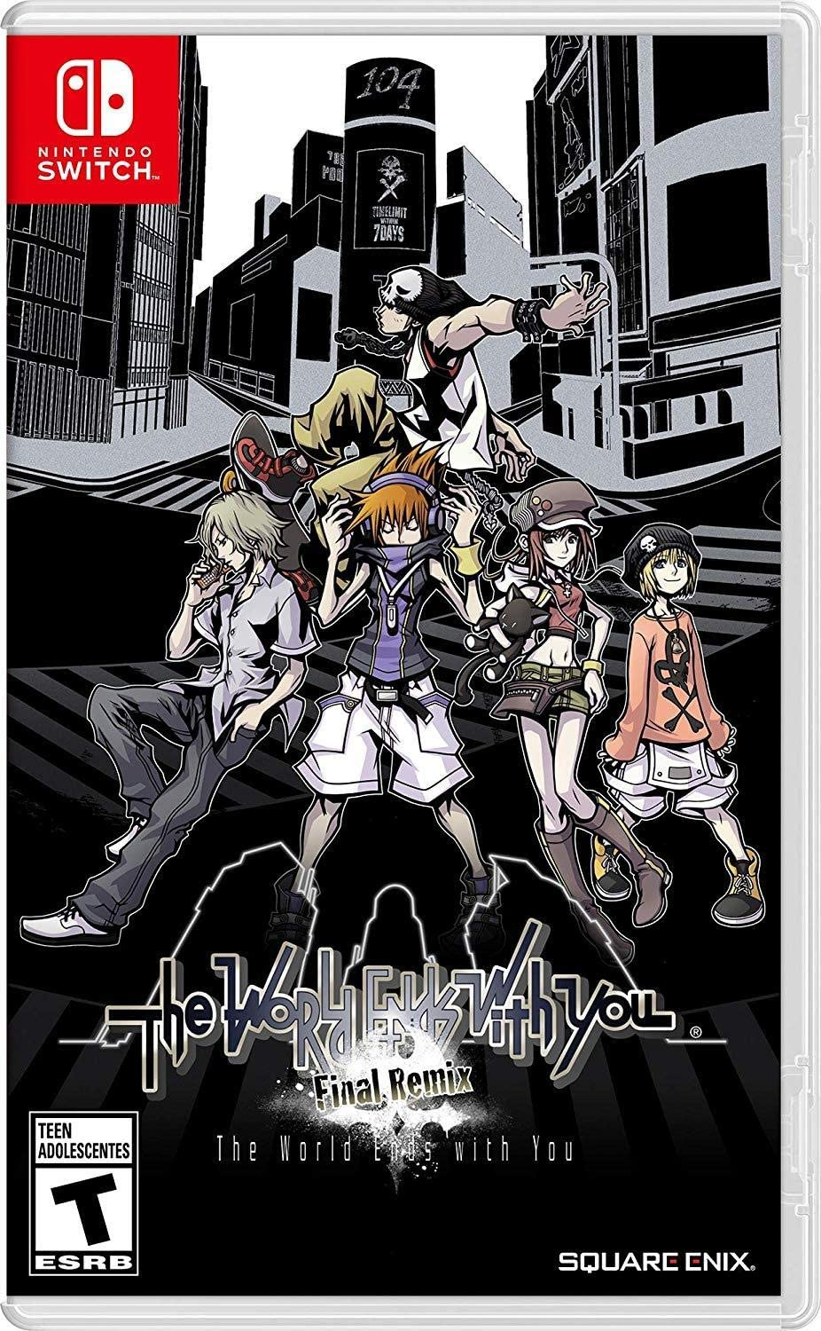Amazon com: The World Ends with You: Final Remix - Nintendo