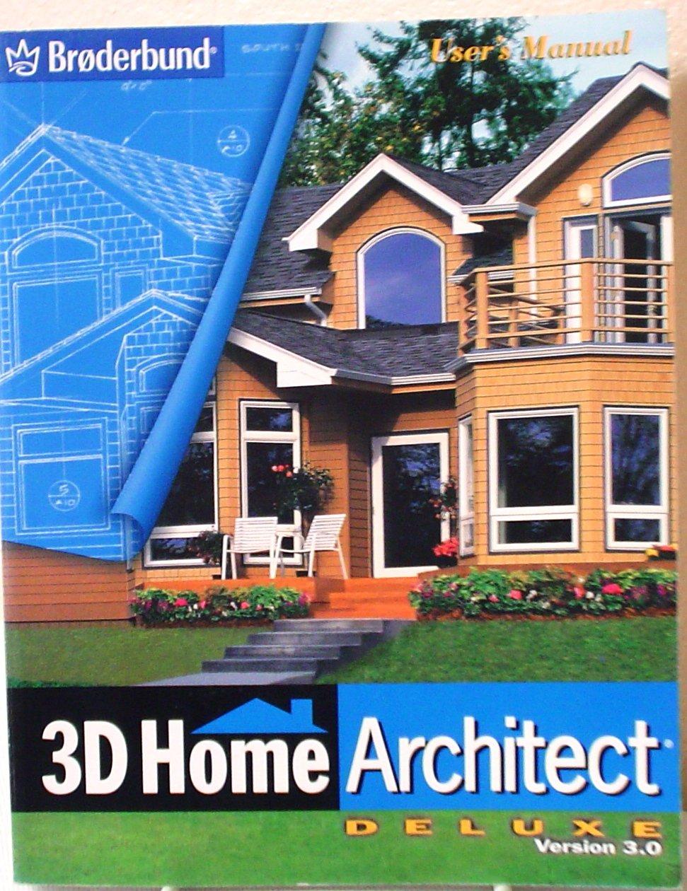 3D Home Architect Deluxe Version 3.0: Broderbund: Amazon.com: Books