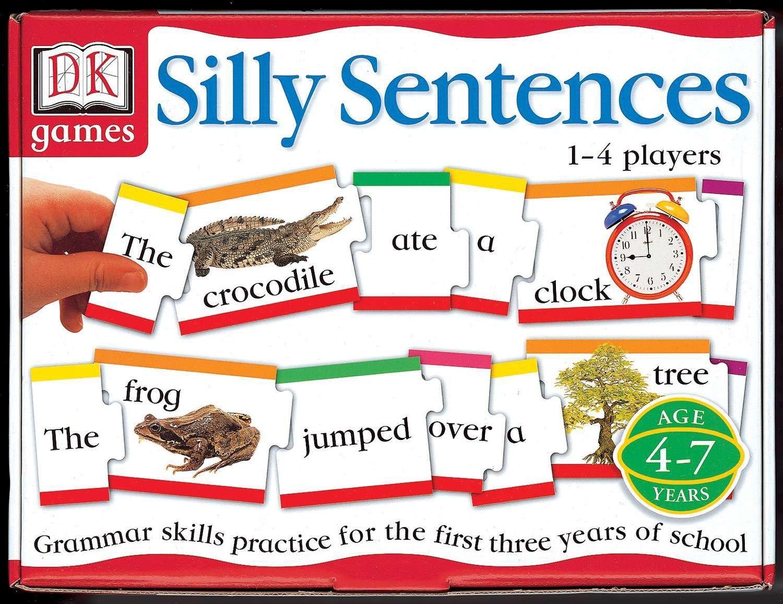 DK Games: Silly Sentences