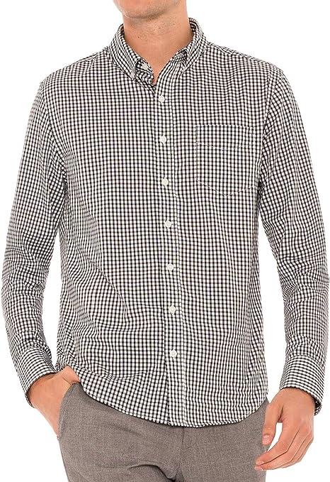 Evolved Kent Dry Fit Camisa de Vestir con Tejido elástico en 4 direcciones para Hombre – Camisas de Manga Larga con Botones para Hombre – Resistente a ...