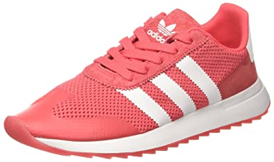 best value 8fcd0 64289 adidas Flashback, Sneakers Basses Femme, Rouge Footwear WhiteCore Pink, 36  2