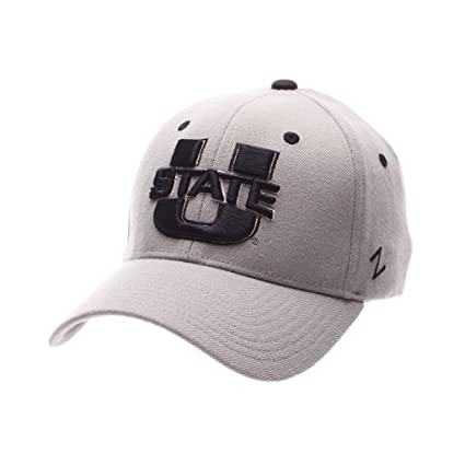 new style 5af6d be9c3 Zephyr Men s Utah State Aggies ZH ZWOOL Stretch FIT HAT Gray XS