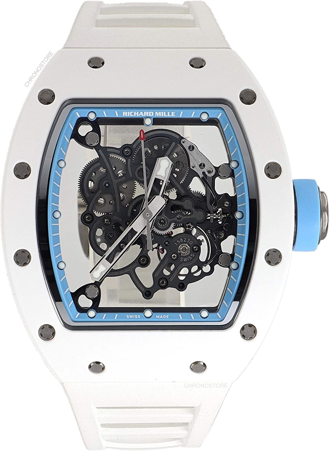 Richard Mille RM 055 Mechanical-Hand-Wind Male Watch RM055 (Certified Pre-Owned)