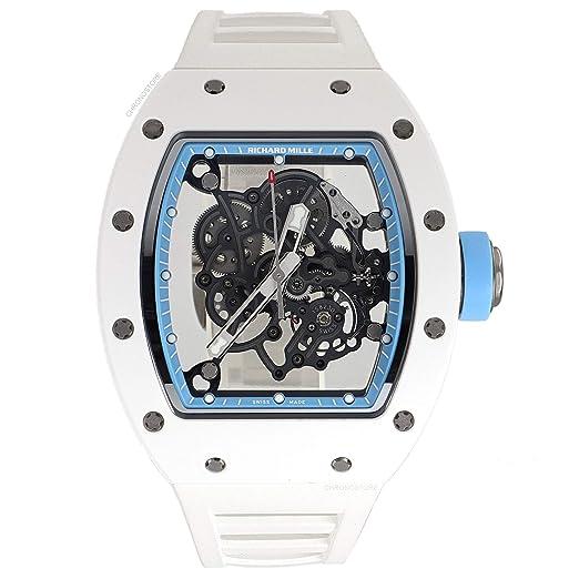 Richard Mille RM 055 RM055 - Reloj mecánico de Viento (Certificado de autenticidad)