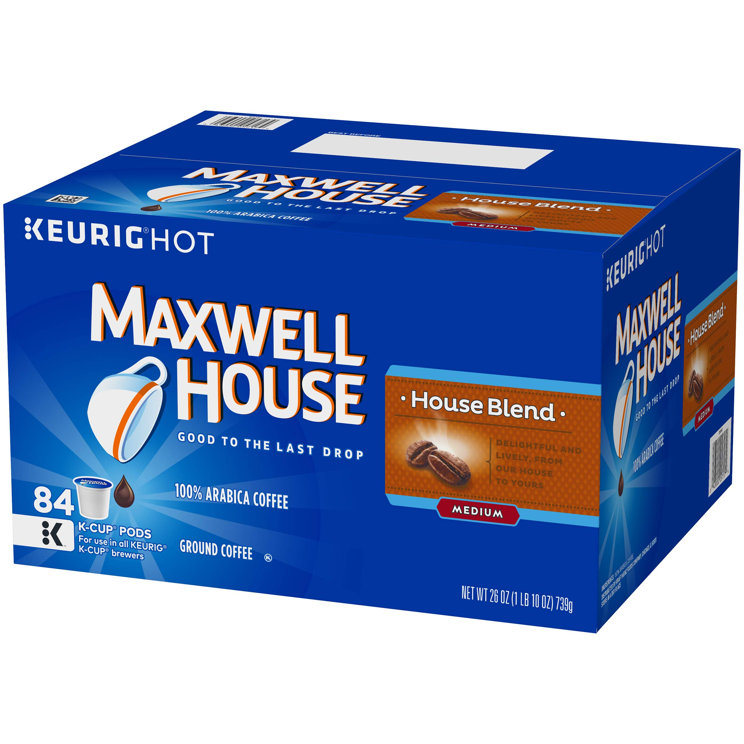 Maxwell House House Blend K-Cup Coffee Pods, 84 ct Box by MAXWELL HOUSE (Image #5)