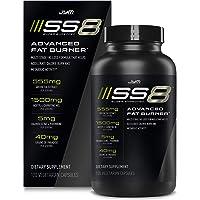 Jym SS8 Super Shredded 8 | Advanced Fat Burner, Acetyl-L Carnitine, Tyrosine, Green Tea Extract, Caffeine, Capsimax…