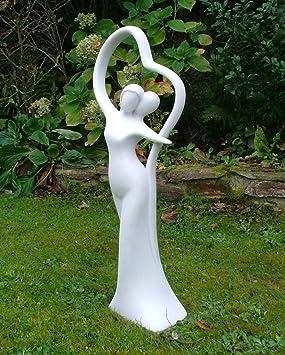 Grande Statue De Jardin Moderne Romance Contemporain