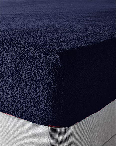 """Warm Cozy Teddy Fleece Fitted Sheet 12/"""" Deep Tight Fit Bed Sheets Plain 10 Color"""