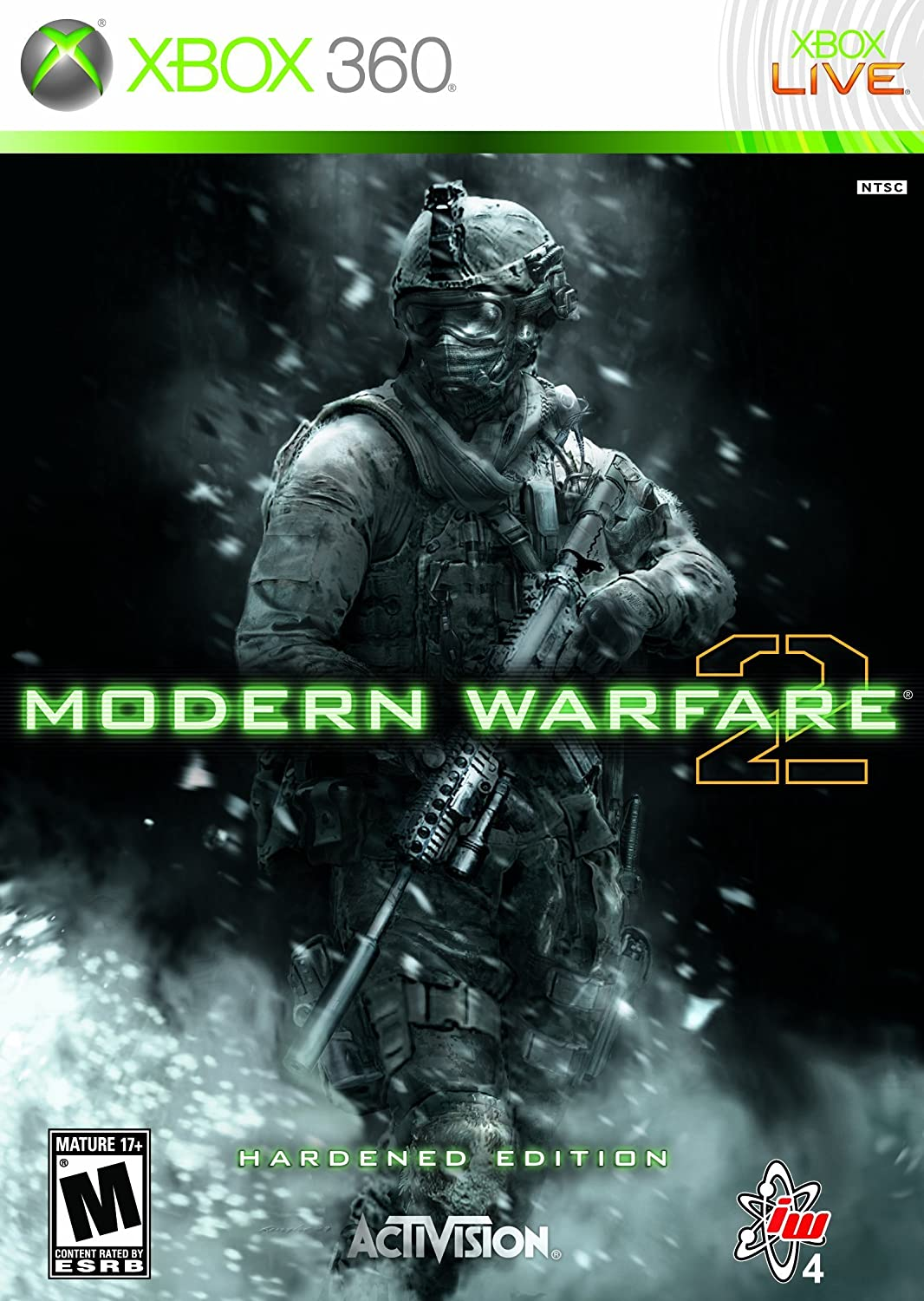 Amazon com: Call of Duty: Modern Warfare 2 Hardened Edition -Xbox