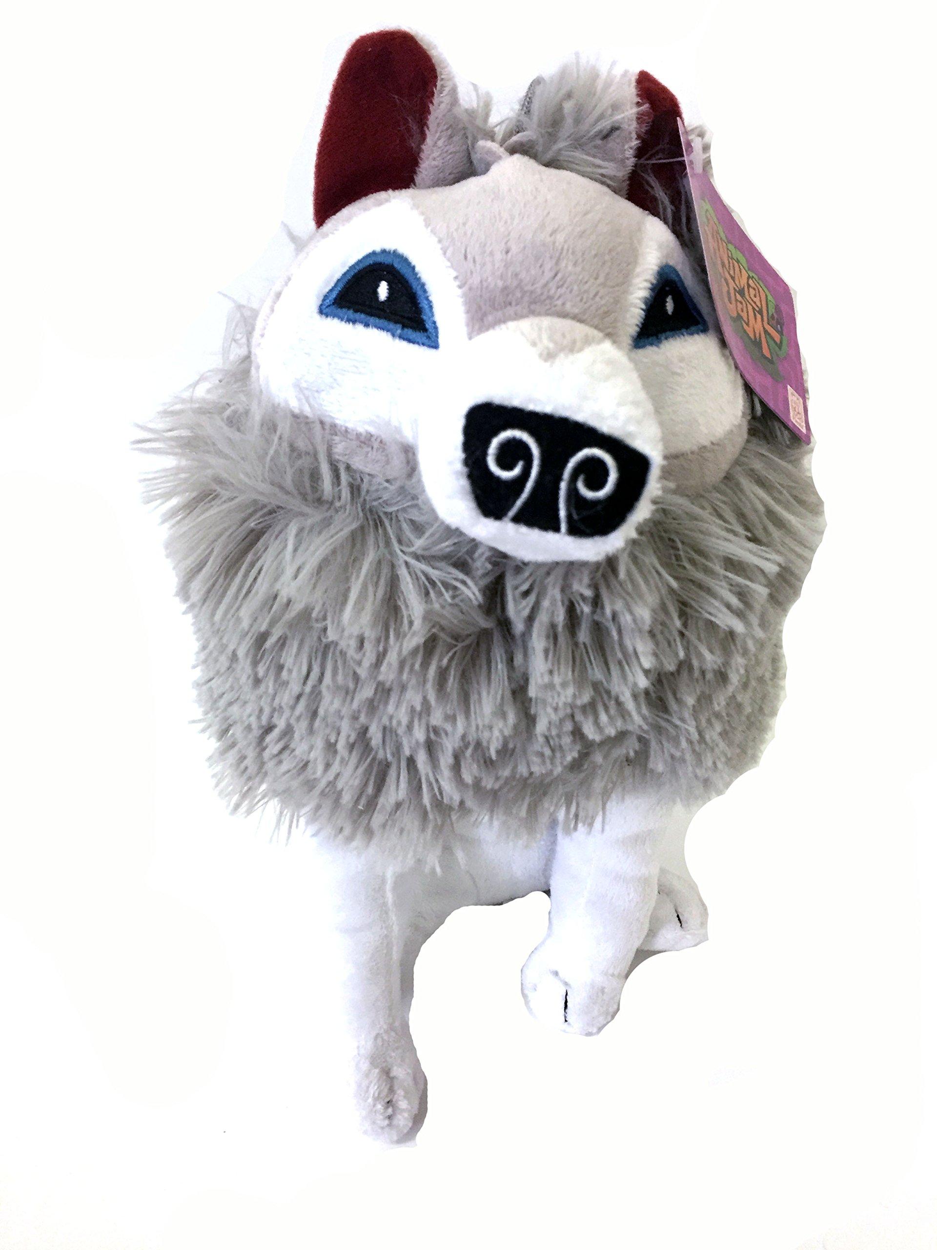"Animal Jam 12"" Artic Wolf Plush Toy | eBay"