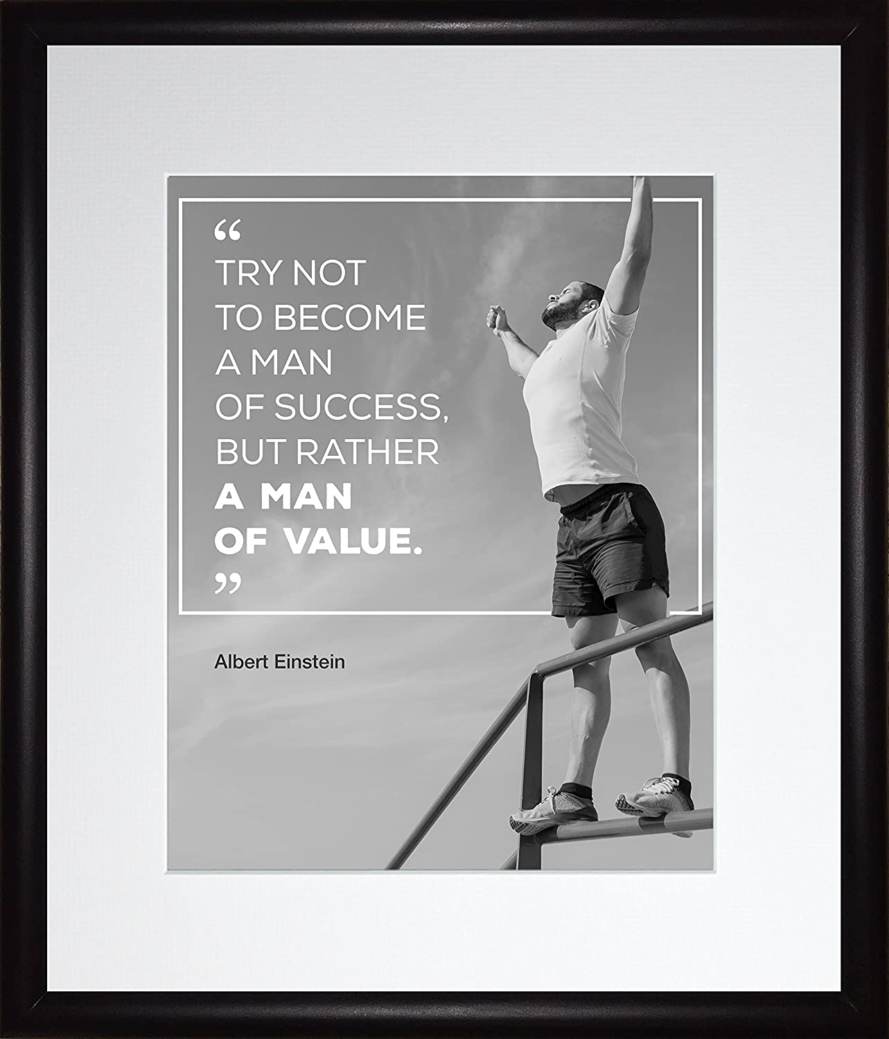 Amazon Albert Einstein Quote Try Not To Become A Man Of