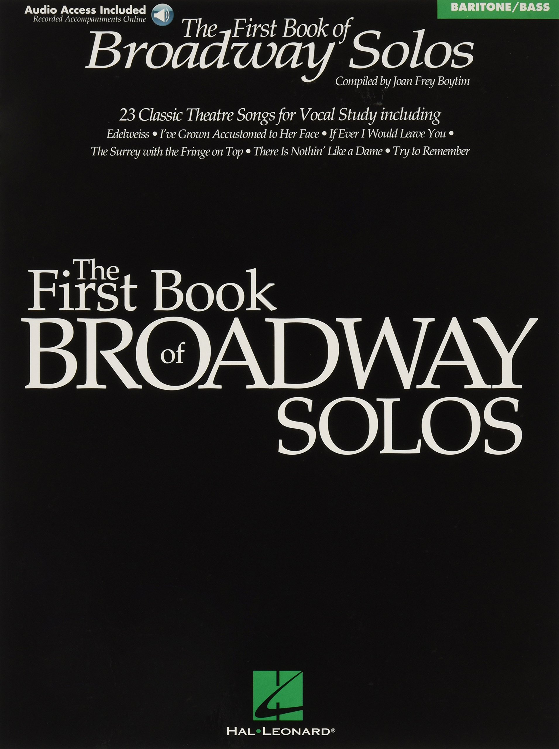 Download First Book of Broadway Solos: Baritone/Bass Edition PDF