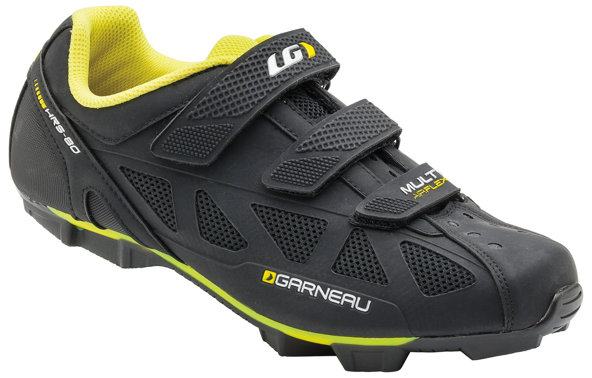 Louis Garneau Multi Air Flex Bike Shoes, Bright Yellow, US (7), EU (40)