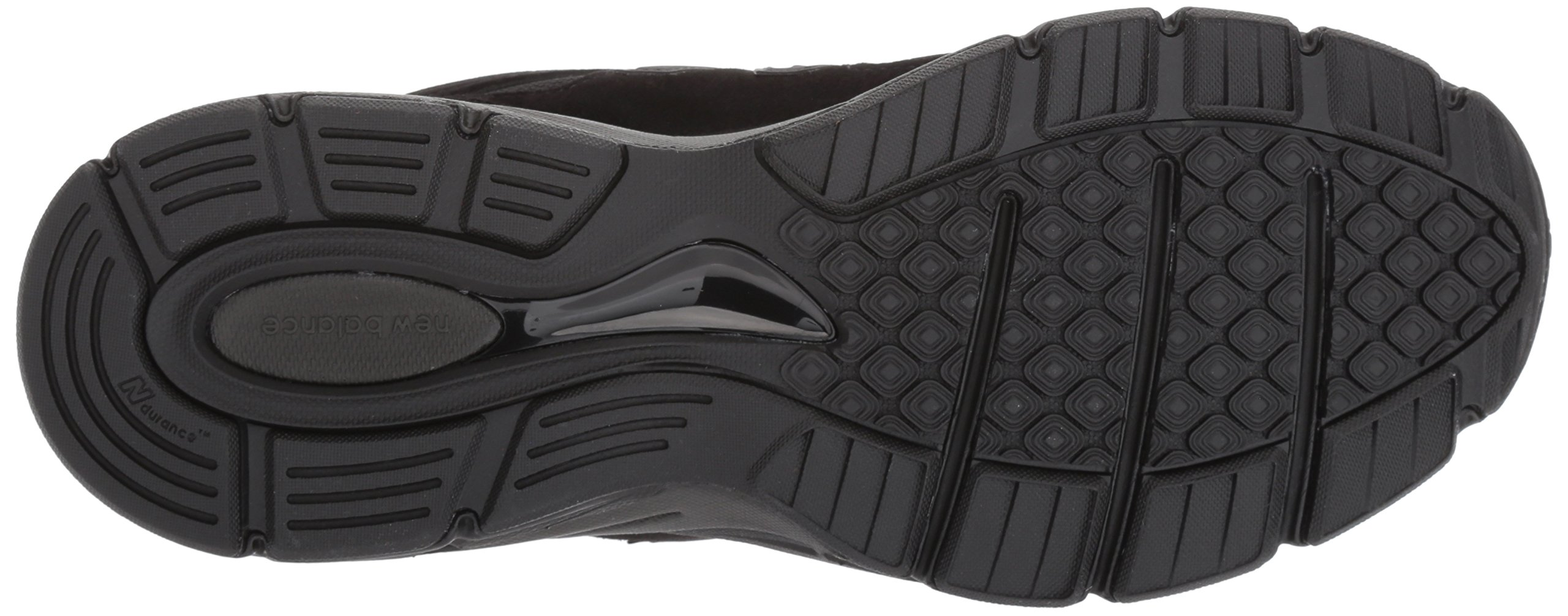 New Balance Men's 990V4 Running Shoe, Black/Black, 11 2E US by New Balance (Image #3)