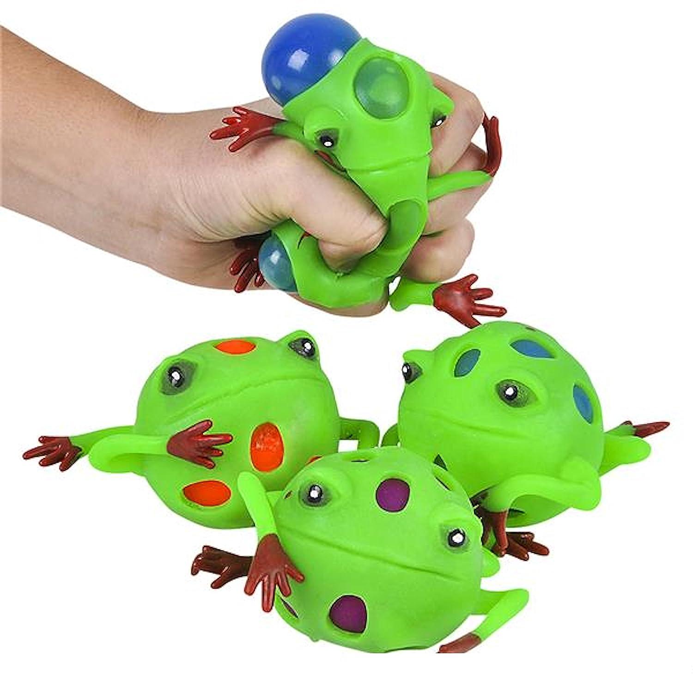 Rhode Island Novelty 3 Frog Squeeze Ball SS-RIN-BAFROME