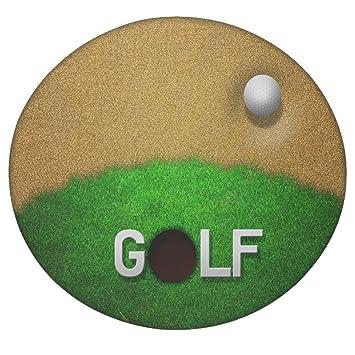 Balle Dans Sand Golf Fond Rond Mandala Tapisserie Hippie Style