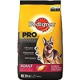 Pedigree PRO Expert Nutrition Active Adult Dogs (18 Months Onwards) Dry Dog Food, 3kg Pack