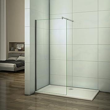 Walk in ducha pared de 10 mm – Mampara de ducha Easy Clean Nano ...