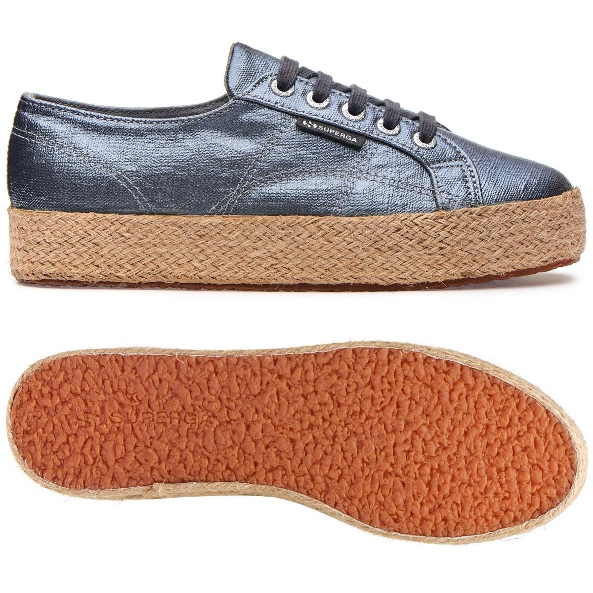 Superga Zapatillas de Algodón para Mujer * 41 EU|Azul