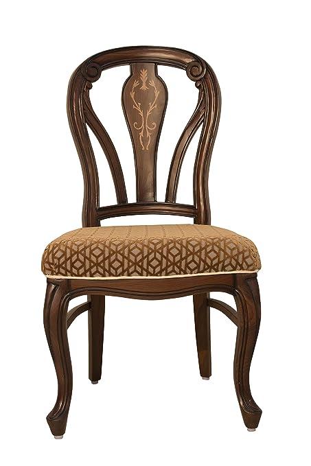 Maruti Furniture Wooden Rajwada Dining Chair Amazonin