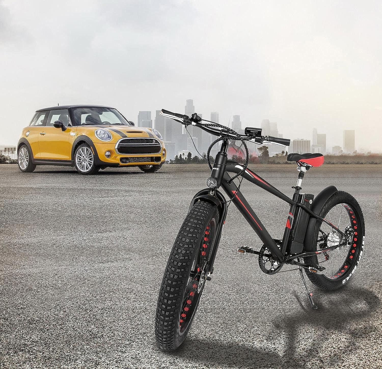 cooshional Bicicleta de Montaña Eléctrica Plegable con Pantalla del Manillar: Amazon.es: Ropa y accesorios