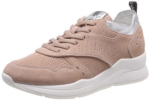 Liu Jo Donna 14 Sneaker PeachScarpe Ginnastica Basse Jeans Karlie Da ED9YWbH2eI