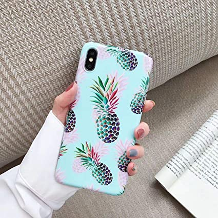 Iphone Xs X Case For Girls Women Ebetterr Ultra Thin Slim Anti Scratch Shockproof Cute Silicone Phone Case Flexible Soft Tpu Clear Bumper Rubber Protective Cover Pineapple Amazon Ca Cell Phones Accessories