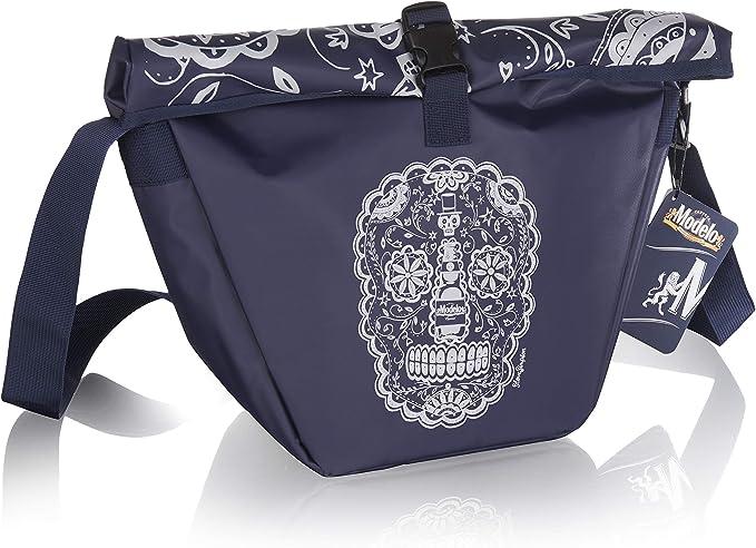 Amazon.com: Vacu Vin Messenger Cooler Bag Modelo Beer Accessory, One Size, Blue: Kitchen & Dining