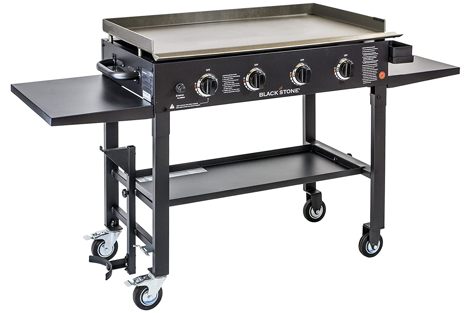 blackstone 36 inch outdoor flat top gas grill griddle station 4burner propane - Best Gas Grills