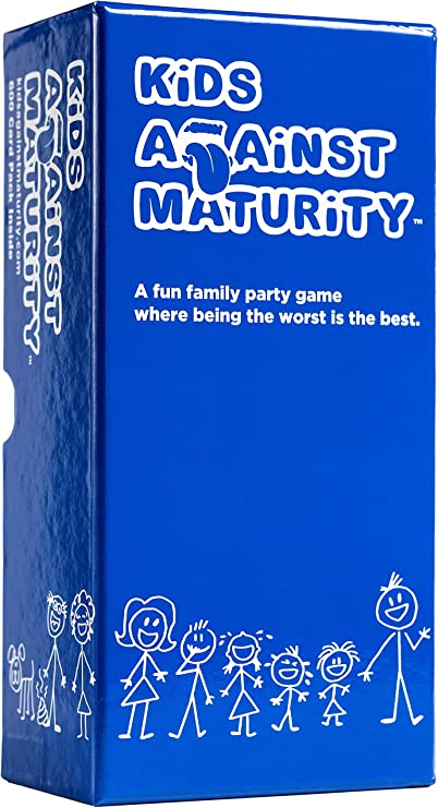 Kids Against Maturity: Card Game for Everyone, Super Fun Gift!